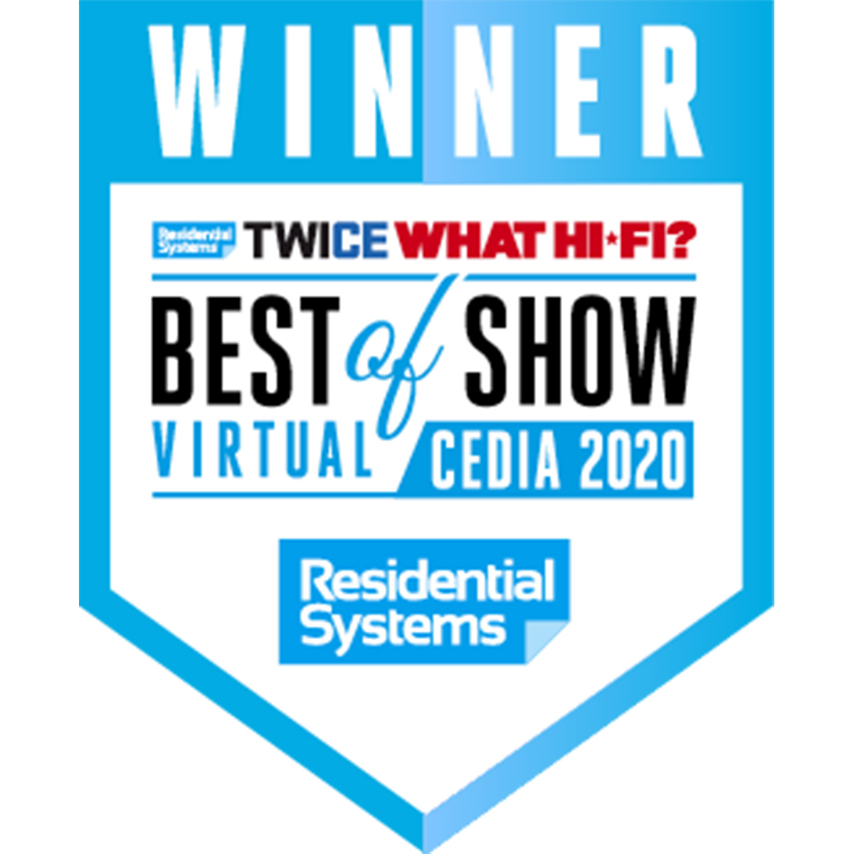 "Residential Systems ""Best of Show"""