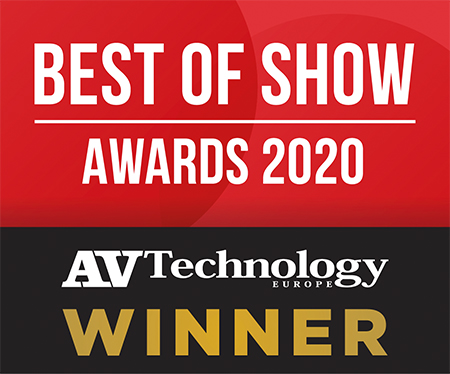 AV Technology Europe Best of Show at ISE